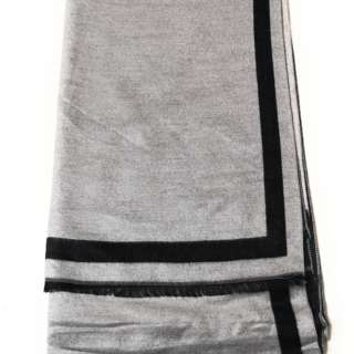100% Cashmere Scarf for Women Reversible Shawl Wrap Stole Long Scarves Bordered. Brand New.