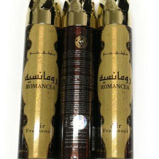 3x Romancea Air Freshener 300ml - Ard Al Zaafaran