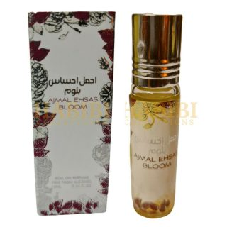 Pack of 4 Ajmal Ehsas Bloom Perfume Oil 10ml By Ard Zaafaran