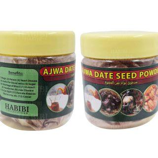 Ajwa Date Seeds Powder Khajoor Genuine Fresh Madina Health 004728
