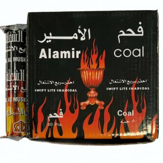 Al Amir Swift Light Charcoal For Bakhoor Incense Coal Hamil Al Musk