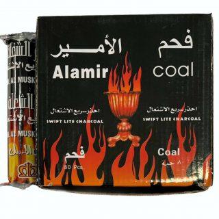 Al Amir Swift Light Charcoal For Bakhoor Incense Coal Hamil Al Musk