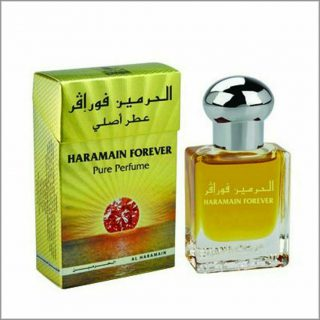 15ml Al Haramain Forever Musk Perfume Oil Arabian Attar Itr Ittar