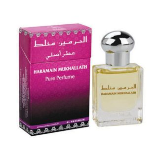 15ml Al Haramain Mukhallath Musk Perfume Oil Arabian Attar Itr Ittar