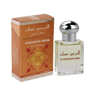 15ml Al Haramain Musk Perfume Oil Arabian Attar Itr Ittar