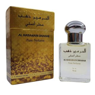 15ml Al Haramain Dhahab Musk Perfume Oil Arabian Attar Itr Ittar