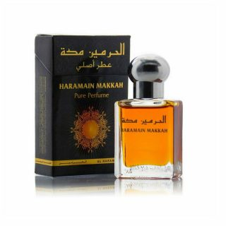 15ml Al Haramain Makkah Musk Perfume Oil Arabian Attar Itr Ittar - Top note: Fresh Middle note: Jasmine, Orange Flower, Strawberry Base note: Amber, Balsamic, Musk, Powdery, Rich, Vanilla