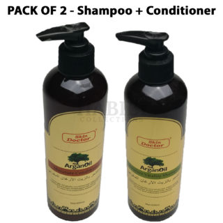 Skin Doctor Argan Oil Moisture Conditioner + Shampoo Set