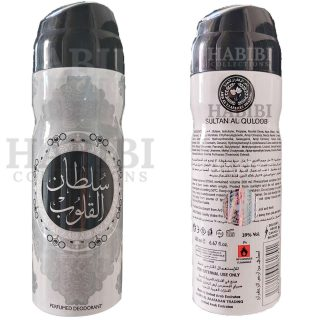 Sultan Al Quloob Perfume Body Spray 200ml
