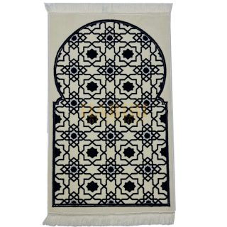 Islamic Prayer Mat Masjid Star Geometric Janamaaz