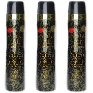 Nabeel Black Air Freshener 300ml - by Nabeel