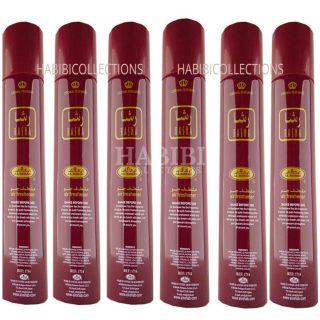 6x Rasha Crown Perfumes Air Freshener By Al Rehab