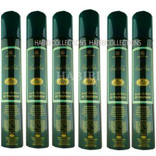 6x Saat Safa Crown Perfumes Air Freshener By Al Rehab