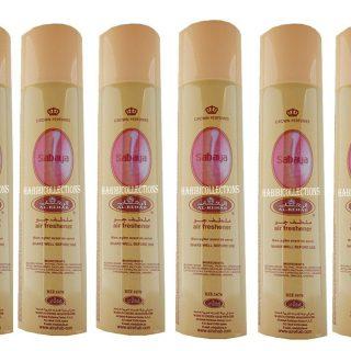 6x Sabaya Crown Perfumes Air Freshener By Al Rehab
