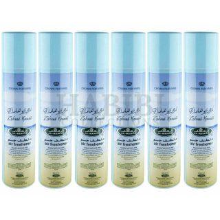 6x Zahrat Hawaii Crown Perfumes Air Freshener By Al Rehab