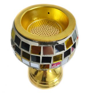 We have a new design decorative incense 'bakhoor' burner which can be used with coal - when heated, the bakhoor releases a fragrant smoke which can be used to fragrance your home or your clothing.