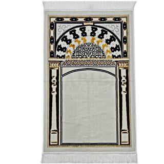 Turkish Super Soft Masjid Arch Islamic Prayer Mat Jannamaz Musalla