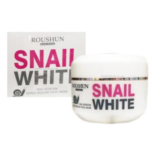 Roushun Snail White Facial Cream for Whitening and Reparing is a highly recommended, very popular face cream which can be used by both Men and Women. The cream has many health benefits. You may use the cream daily. Effective for Dark Circles, Skin Revitalization & Nourishment, Whitening and Anti-aging effects as well as skin brightening and moisturizing.