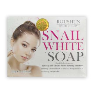 Roushun Snail White Body Soap Whiten & Repair