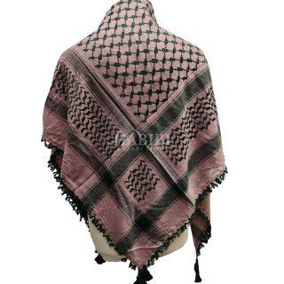Green/Pink Shemagh Arab Head Scarf Wrap Arafat Keffiyeh Yashmagh