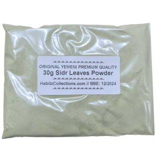 Sidr (Lote) Leaf Powder Leaves Black Magic