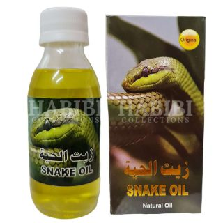 125ml Snake Hair Oil 100% Natural & Free of Chemicals