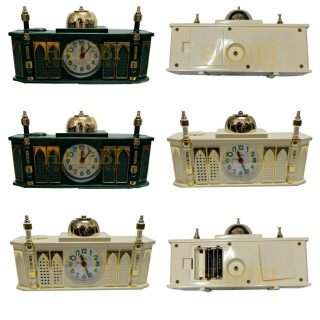 High Quality Masjid Mosque Shaped Complete Azaan Alarm Clock Islamic Azan Habibicollections Tbs177 Img1