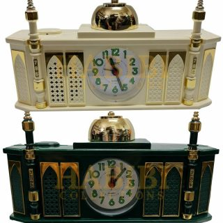 High Quality Masjid Mosque Shaped Complete Azaan Alarm Clock Islamic Azan Habibicollections Tbs177 Img7