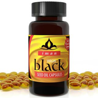 IMAN Black Seed Oil Capsules 500mg MAX STRENGTH COLD PRESSED