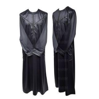 Nskemrt 002 Grey Thobe Jubba Men's Design Emirati Dishdash High Quality 05 08t041021.126