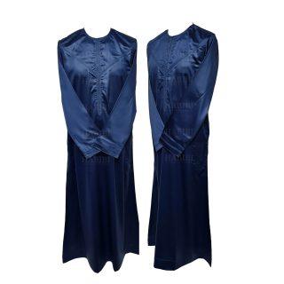 Nskemrt 003 Blue Thobe Jubba Men's Design Emirati Dishdash High Quality 05 08t042723.394