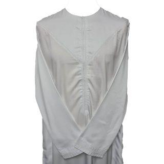 Nskemrt 004 White Thobe Jubba Men's Design Emirati Dishdash High Quality 0507 044115