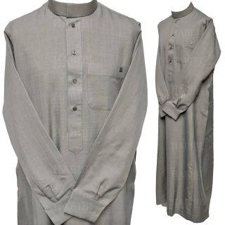 Nusuki Cuff 001 90210145222mix Nusuki Men Thick Grey Thobe Long Sleeve Cuffed Jubba0509 221530