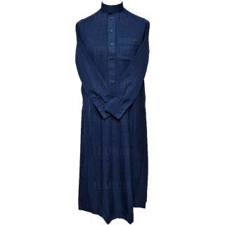 Nusuki Cuff 004 90210145022mix Nusuki Men Thick Blue Thobe Long Sleeve Jubba0509 222306
