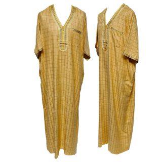 Ot Chqslv Yel Women's 3 Quarter Sleeve Arabian Bisht Cloak Arab Dress Thobe Islam Robe Eid 05 31t175353.398