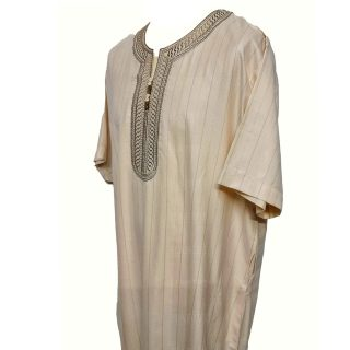 Oth Slv024 Men Moroccan Short Sleeves Thobe0328 202711