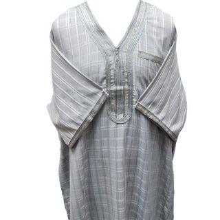 Othchq 027 L Grey Men Moroccan Short Sleeves Thobe 05 03t071652.417 (1)