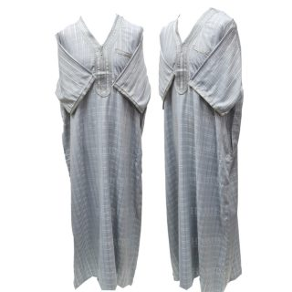 Othchq 027 L Grey Men Moroccan Short Sleeves Thobe 05 03t071652.417 (5)