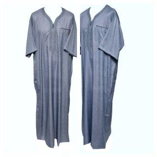 Othslv 004 Grey A Men Moroccan Short Sleeves Thobe 05 01t040426.623 (1)