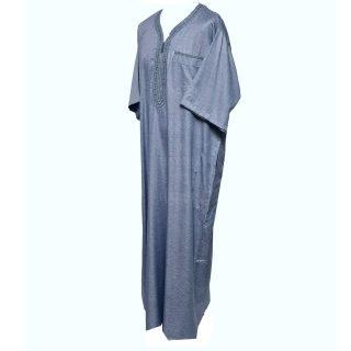 Othslv 004 Grey A Men Moroccan Short Sleeves Thobe 05 01t040426.623 (2)