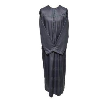 Omani Grey003 Men Omani Long Sleeves Thobes0418 223745