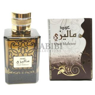 Ard Al Zaafaran Perfumes Oud Malezee Eau de Parfum 100ml - Habibi Collections