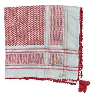 Palestine Habibi Collections Shemagh Arab Head Scarf Wrap Arafat Keffiyeh Yashmagh 1600 Loads