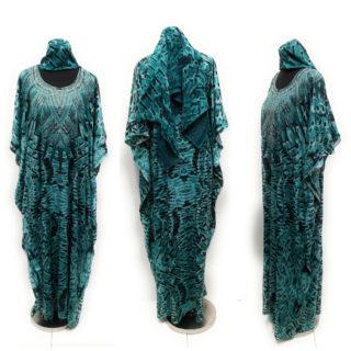 Women's Luxury Kaftan Blue DN1002