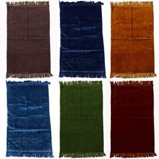 "1"" Thick Islamic Plain Soft Sponge Padded Prayer Mat"