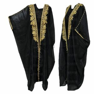 Wmnbsht 003 Women's 3 Quarter Sleeve Arabian Bisht Black Cloak Arab Dress Thobe Islam Robe Eid 05 28t174209.549