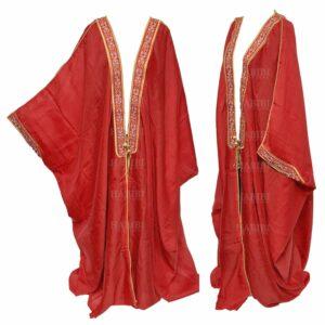 Wmnbsht 006 Women's 3 Quarter Sleeve Arabian Bisht Cloak Arab Dress Thobe Islam Robe Eid 05 29t200022.412