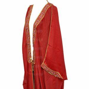 Wmnbsht 006 Women's 3 Quarter Sleeve Arabian Bisht Cloak Arab Dress Thobe Islam Robe Eid 0528 182441