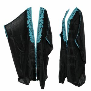 Wmnbsht 007 Women's 3 Quarter Sleeve Arabian Bisht Cloak Arab Dress Thobe Islam Robe Eid 05 29t171637.786
