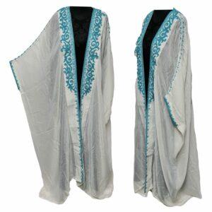 Wmnbsht 008 Women's 3 Quarter Sleeve Arabian Bisht Cloak Arab Dress Thobe Islam Robe Eid 05 29t170731.811